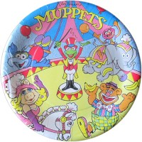 Muppets Vintage 'Circus' Small Paper Plates (8ct ...