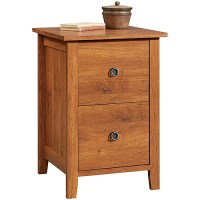 Sauder Rose Valley File Cabinet in Abbey Oak