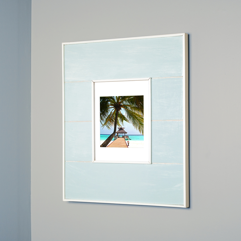 14 X 18 Recessed Medicine Cabinet 14x18 Seabreeze Blue Picture Frame Medicine Cabinet A Recessed Concealed Medicine Cabinet That You Decorate Yourself Available In White Black