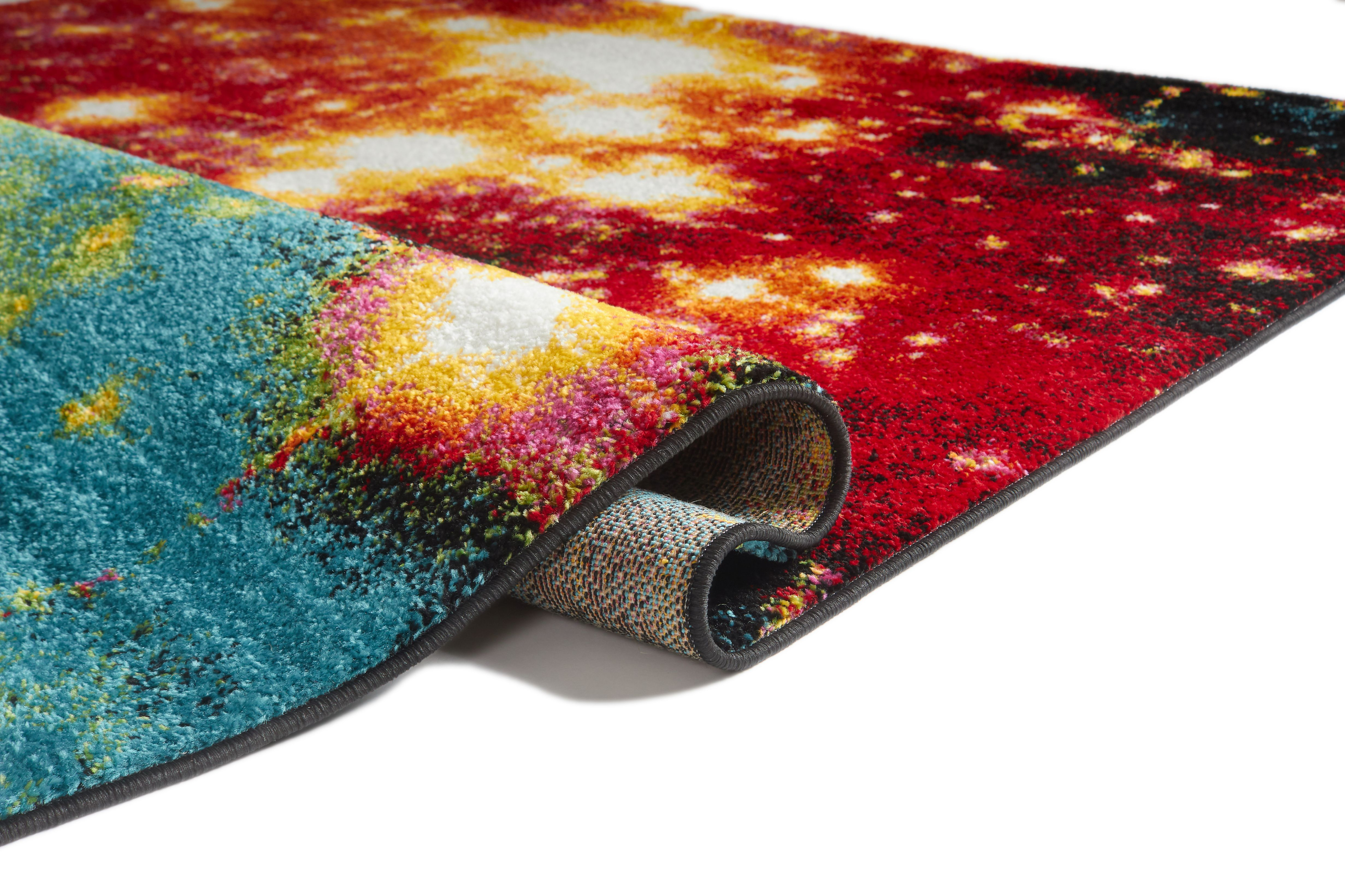 Viva Garage Floor Mats Well Woven Viva Stellar Modern Abstract Galaxy Multi 5 3