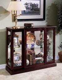 Console Curio Cabinet