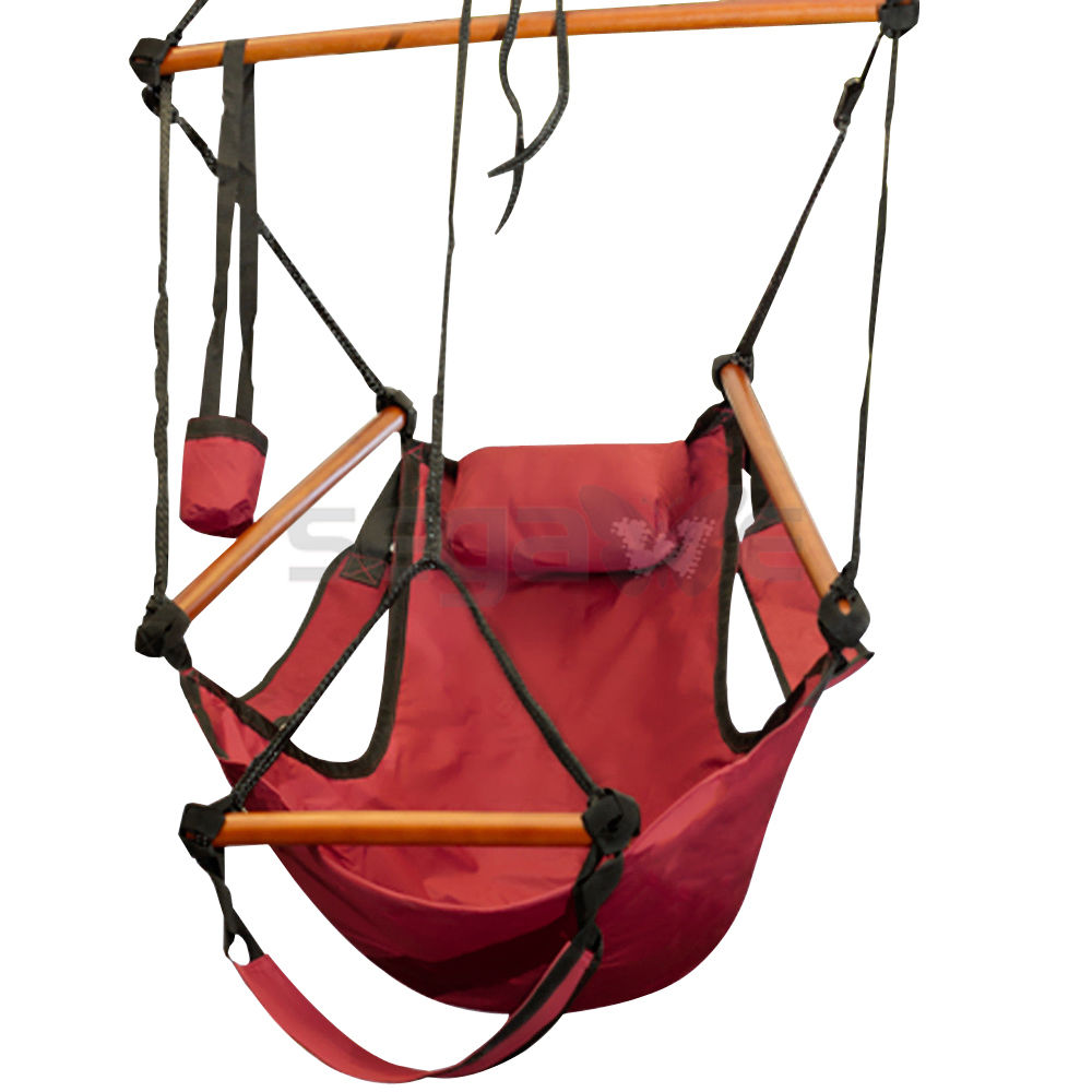 Hanging Outdoor Chairs Gizmo Supply Outdoor Indoor Hammock Hanging Chair Air Deluxe Sky Swing Chair Capacity 250lbs