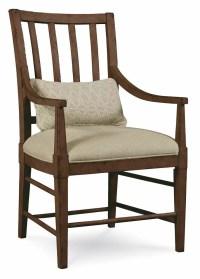 Slat Back Arm Chair - Set of 2 - Walmart.com