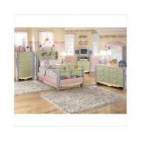 Ashley Furniture Doll House Twin Sleigh Bedroom Set in ...
