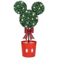 Disney Mickey Mouse LED Topiary Tree Christmas Decoration ...