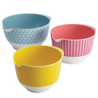 Cake Boss Countertop Accessories 3-Piece Mixing Bowl Set ...