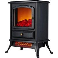 Warm Living Portable Infrared Quartz Home Fireplace Stove ...