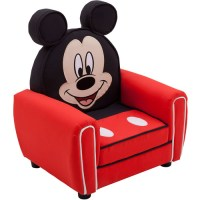 Disney Mickey Mouse Figural Upholstered Chair, Red ...