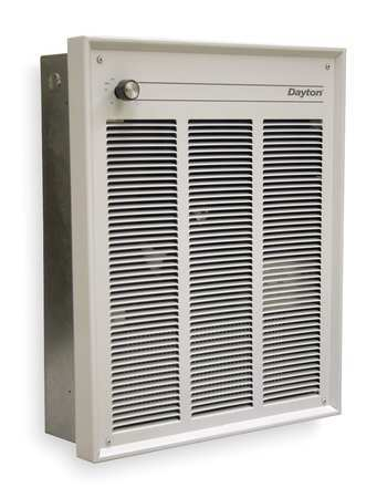 Dayton 2had8 Commercial Electric Wall Heater Recessed