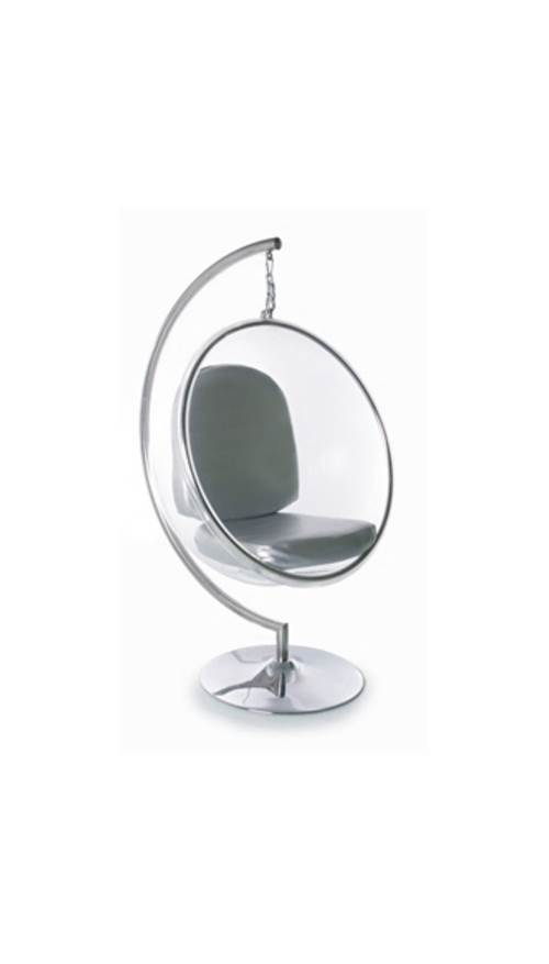 Indoor Bubble Chair Stand In Clear Walmartcom