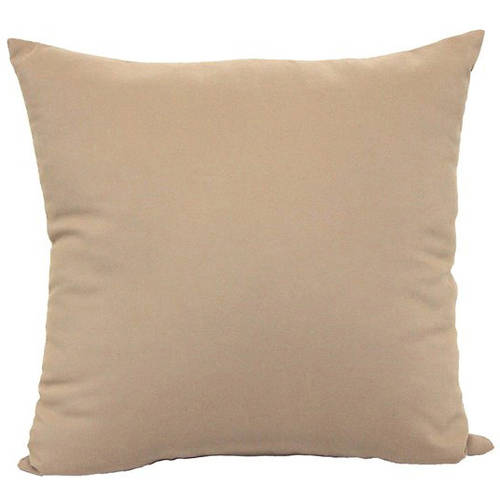 Mainstays Microfiber Twill Accent Decorative Throw Pillow