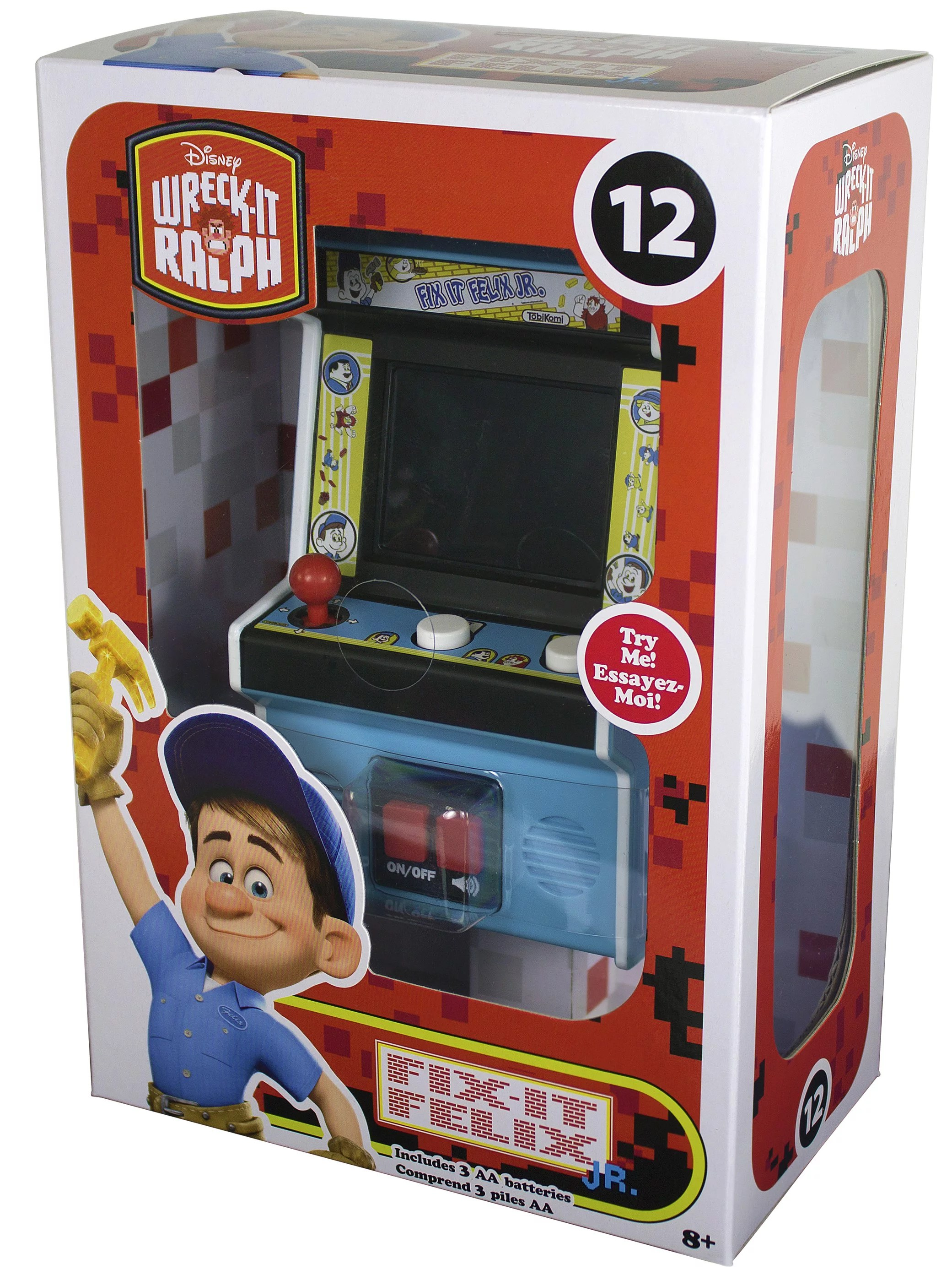 Classic Table Arcade Games Arcade Classics Fix It Felix Mini Arcade Game Walmart