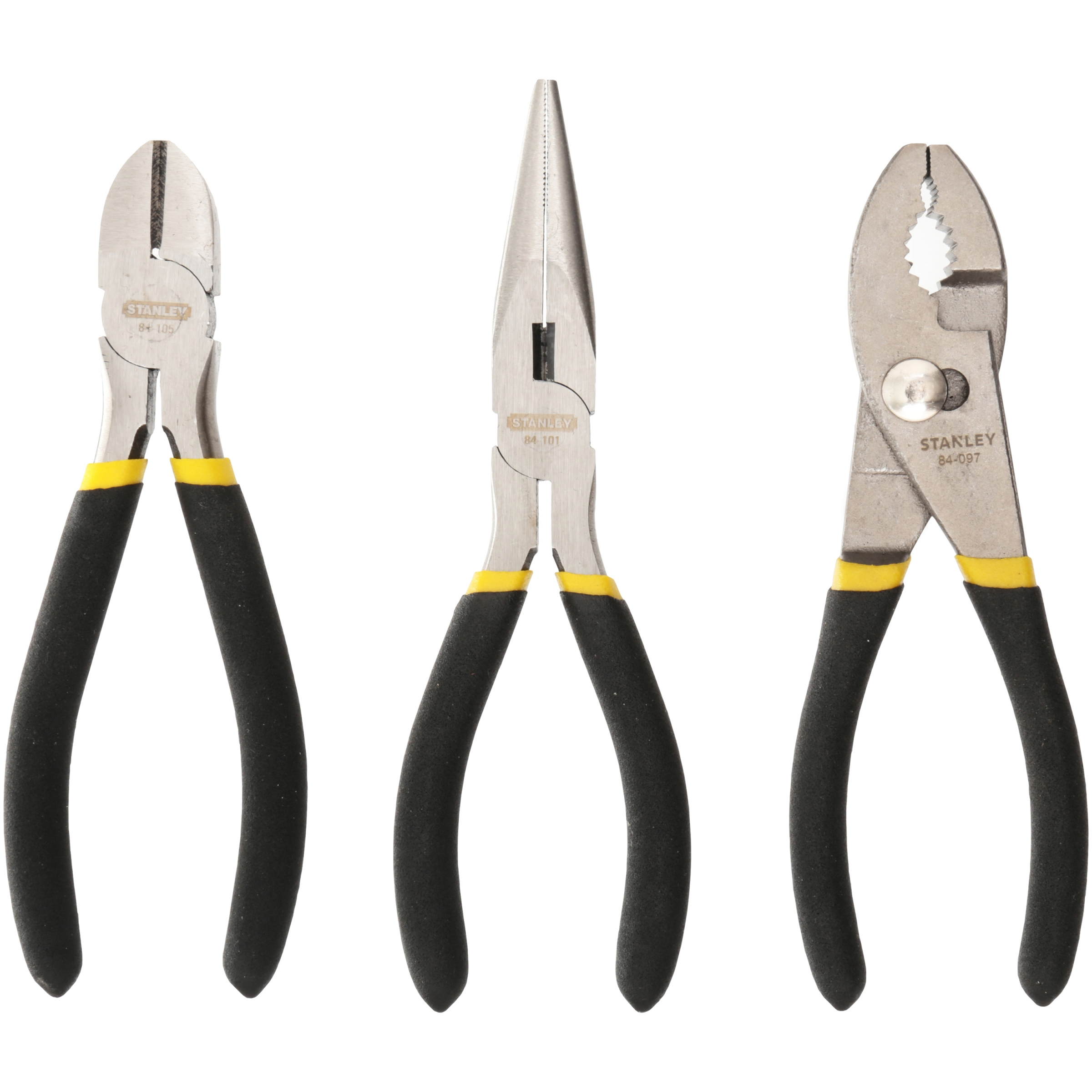 Pliers Set Stanley Pliers Set 3 Pc Carded Pack