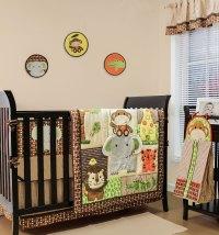 Belle Crib Bedding Set - Jungle Safari Theme - Walk ...