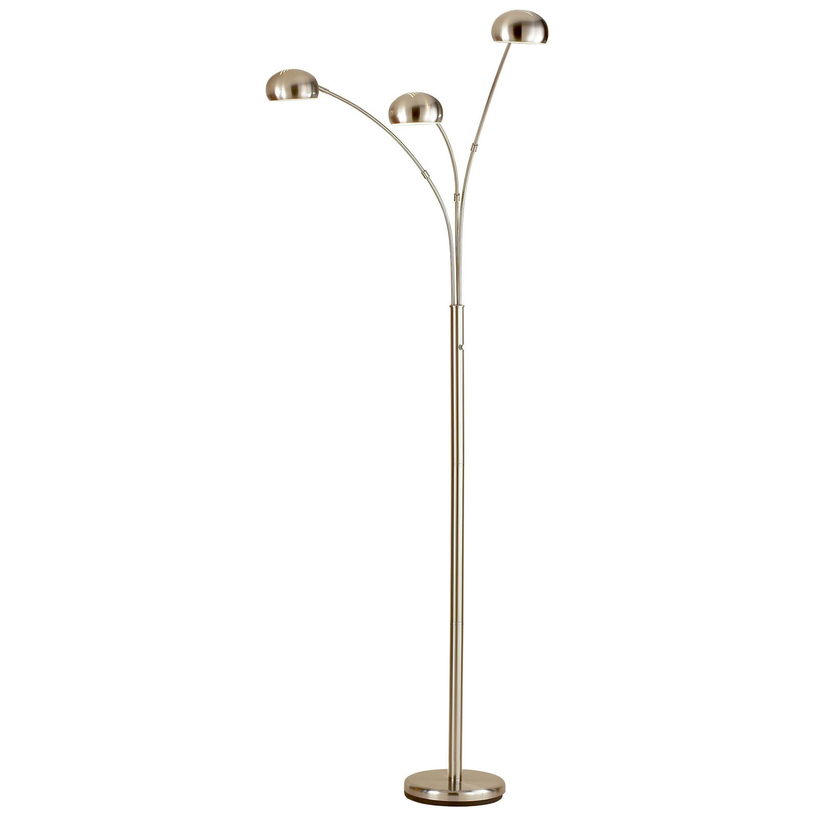 Small Arc Floor Lamp Adesso Lighting 5118 22 Domino Arc Floor Lamp