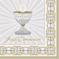 First Communion Paper Plates & Hallmark Precious Moments ...