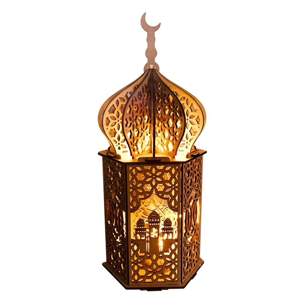 Stereo Palace Lamp Led Eid Mubarak Decorative String Lights Ramadan Kareem Decoration Accessories Muslim Islam Party Supplie Vintage Festival Lantern Walmart Canada