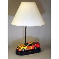 Judith Edwards Designs Race Car 20'' Table Lamp
