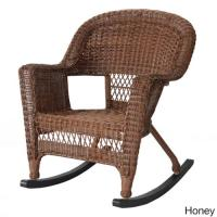 Jeco Wicker Rocker Patio Chairs (Set of 2) - Walmart.com