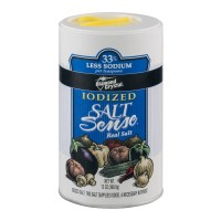 Diamond Crystal Iodized Salt Sense Real Salt, 13.0 OZ ...