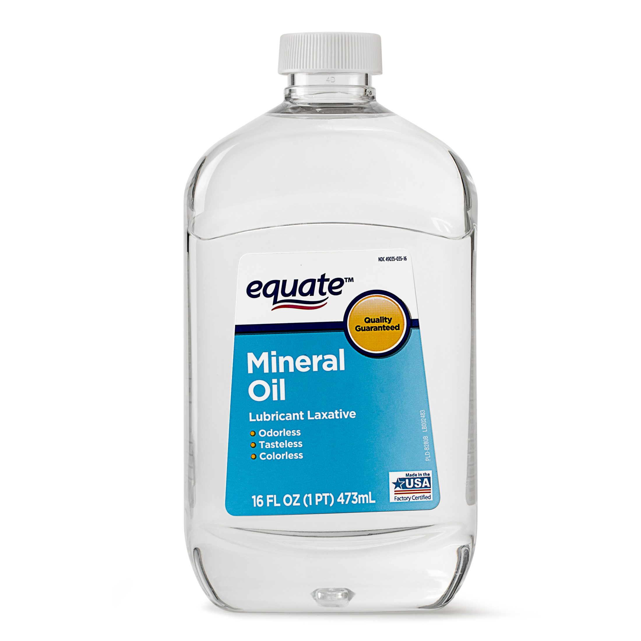Mineral Oil Equate Mineral Oil Lubricant Laxative 16 Fl Oz