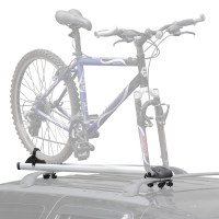 Aluminum Fork-Mount Car Roof Upright Bicycle Rack ...