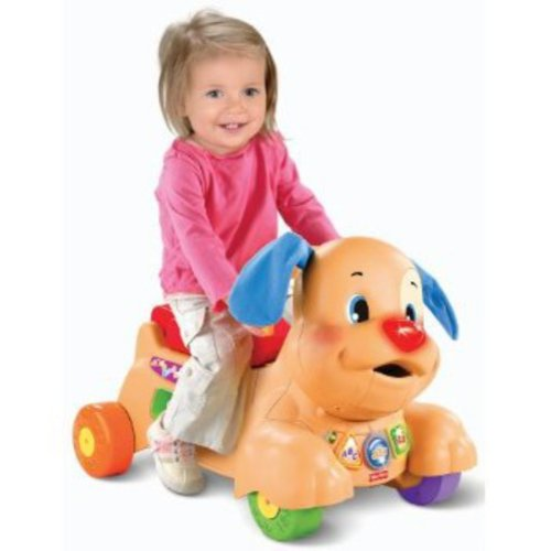 Fisher Price Laugh Learn Stride To Ride Puppy Walmart