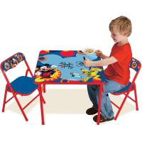 Disney Mickey Mouse Erasable Activity Table Set - Walmart.com