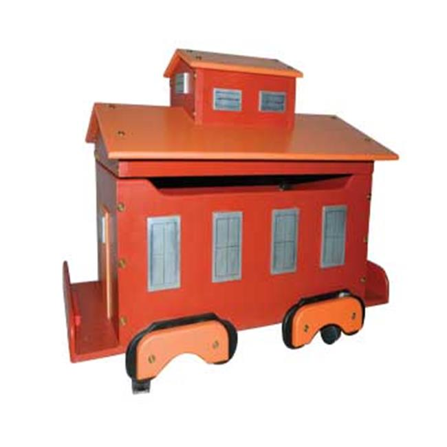 Just Kids Stuff Caboose Toy Box Walmart