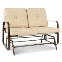 Best Choice Products 2 Person Loveseat Glider Rocking