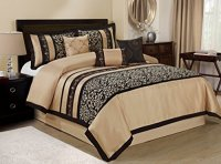 7 Piece ODESA Print & Embroidery Clearance bedding ...