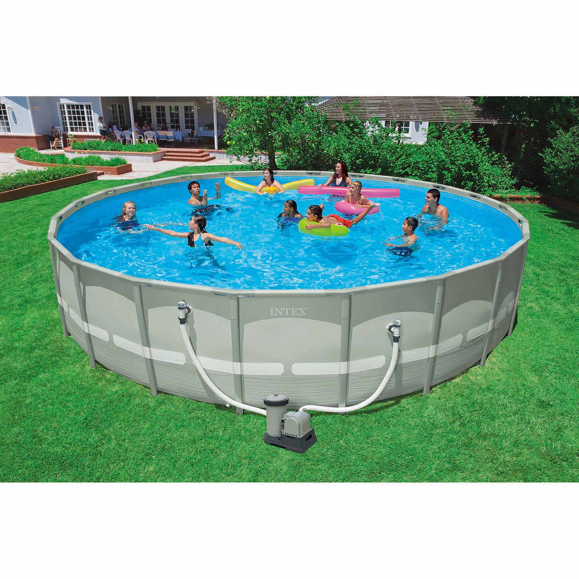Intex Pool Frame Rund Intex 22 X 52