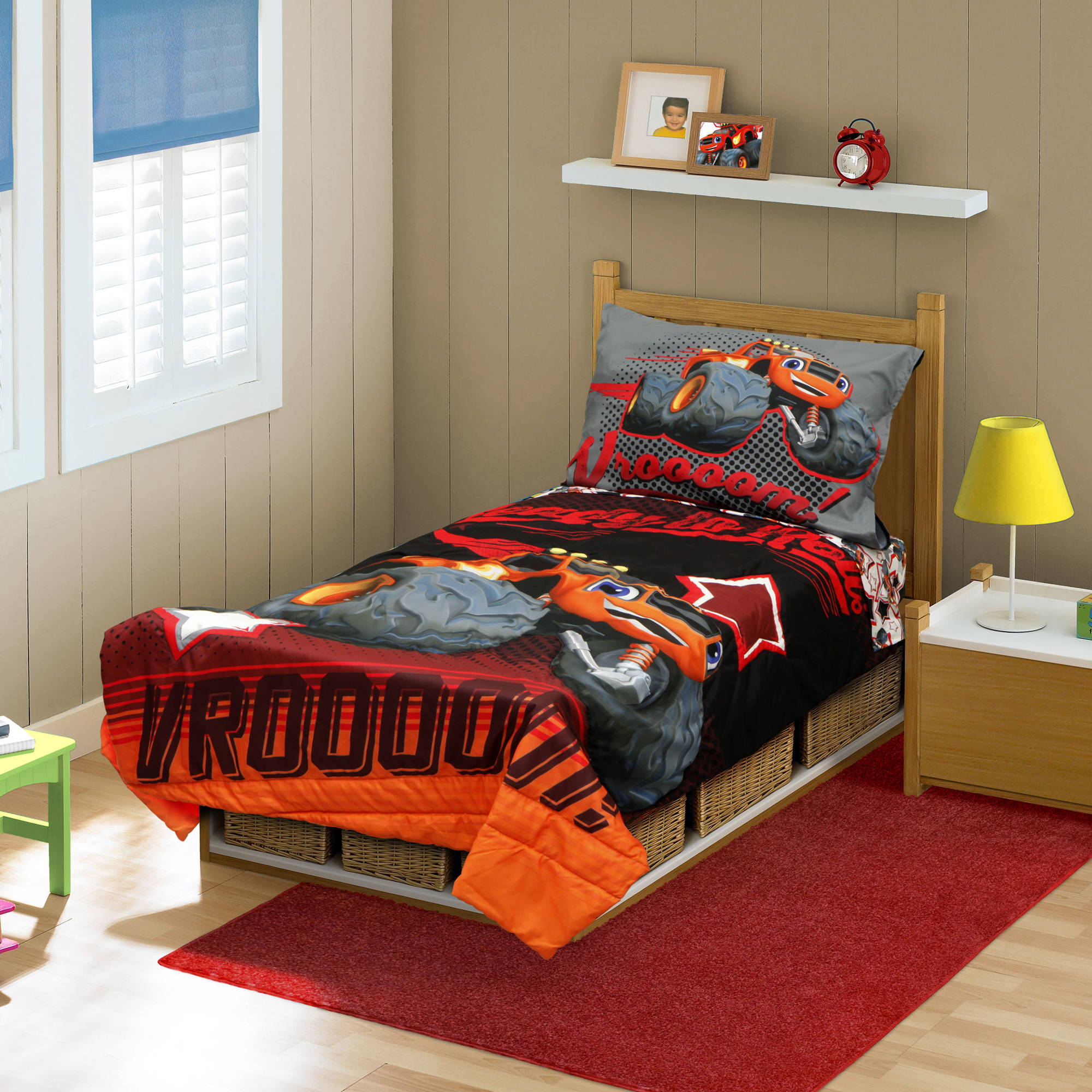 Boys Double Quilt Cover Nickelodeon Teenage Mutant Ninja Turtles 4 Piece Toddler Bedding Set