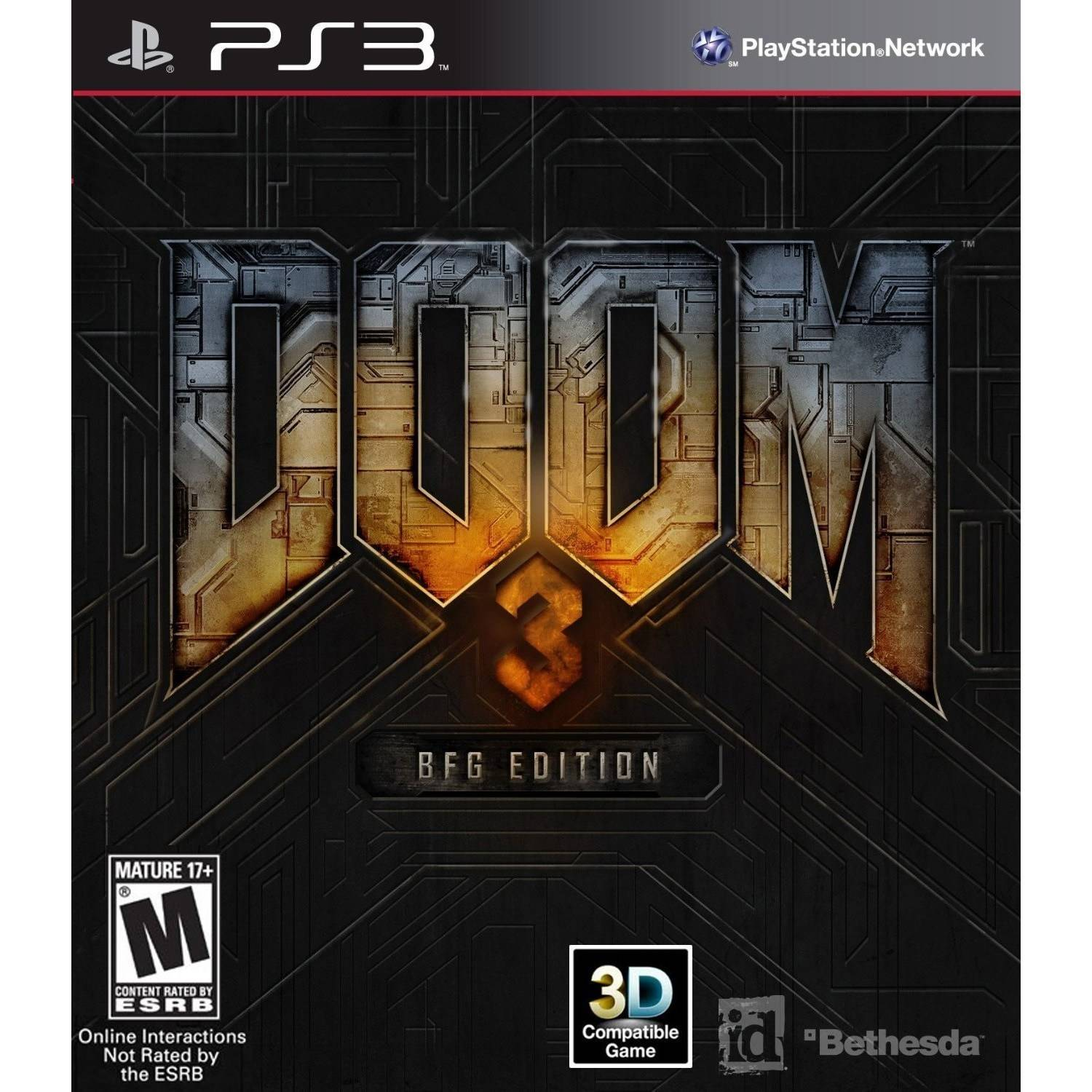 Edition For Ps3 Bethesda Softworks Doom 3 Bfg Edition Ps3