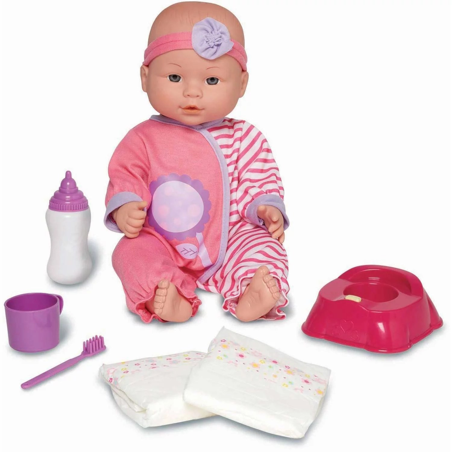 Bad Set For Baby My Sweet Love Baby Doll Potty Time Set Caucasian