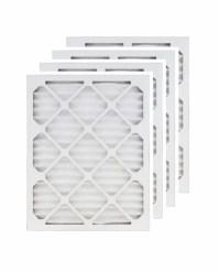 16x25x1 MERV 8 Air Filter/Furnace Filters (4 pack ...
