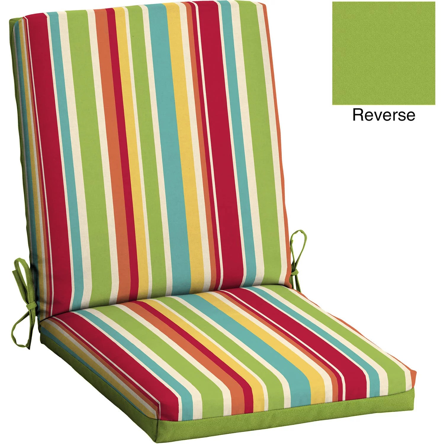 Discount Patio Chair Mainstays Outdoor Patio Bench Cushion 17