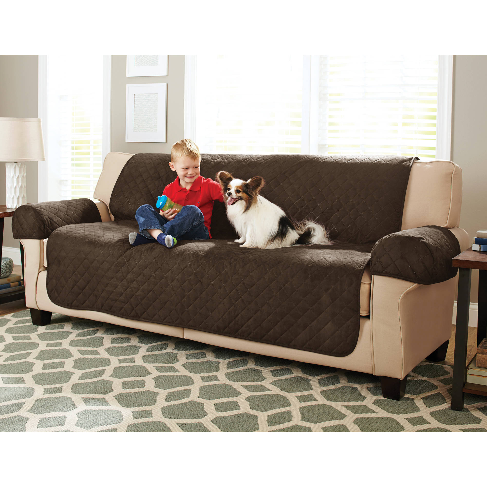Quality Sofa Covers Better Homes And Gardens Waterproof Non Slip Sofa Furniture Pet Cover