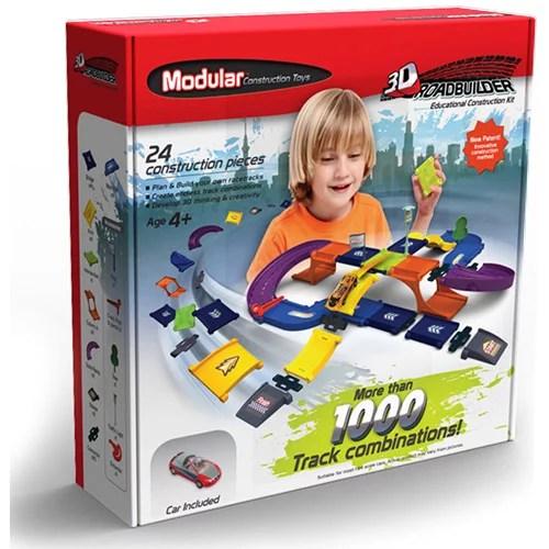 Modular Construction Toys Road Builder Kit Walmart