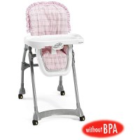 Evenflo Expressions High Chair, Pink Cuddle Bear, BPA Free ...