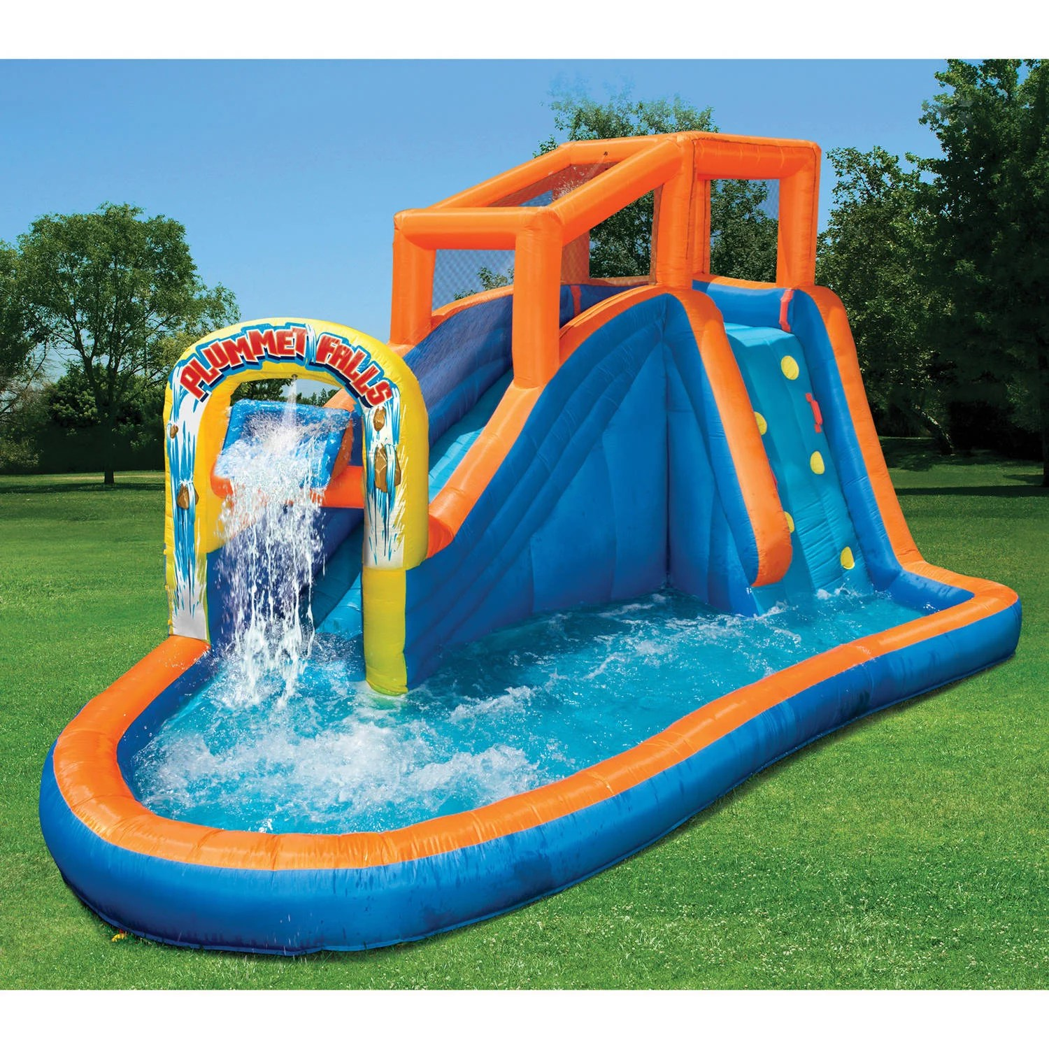 Pool Kaufen Sale Banzai Plummet Falls Adventure Water Slide Ebay