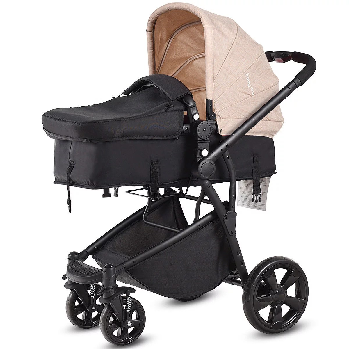 Newborn Baby Buggy Reviews Costway 2 In 1 Folding Aluminum Baby Stroller Buggy