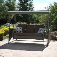 Montclaire Woven Patio Swing - Walmart.com