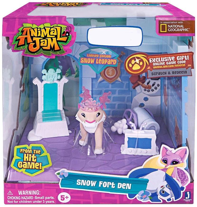 Animal Jam Snow Fort Den Playset Walmart