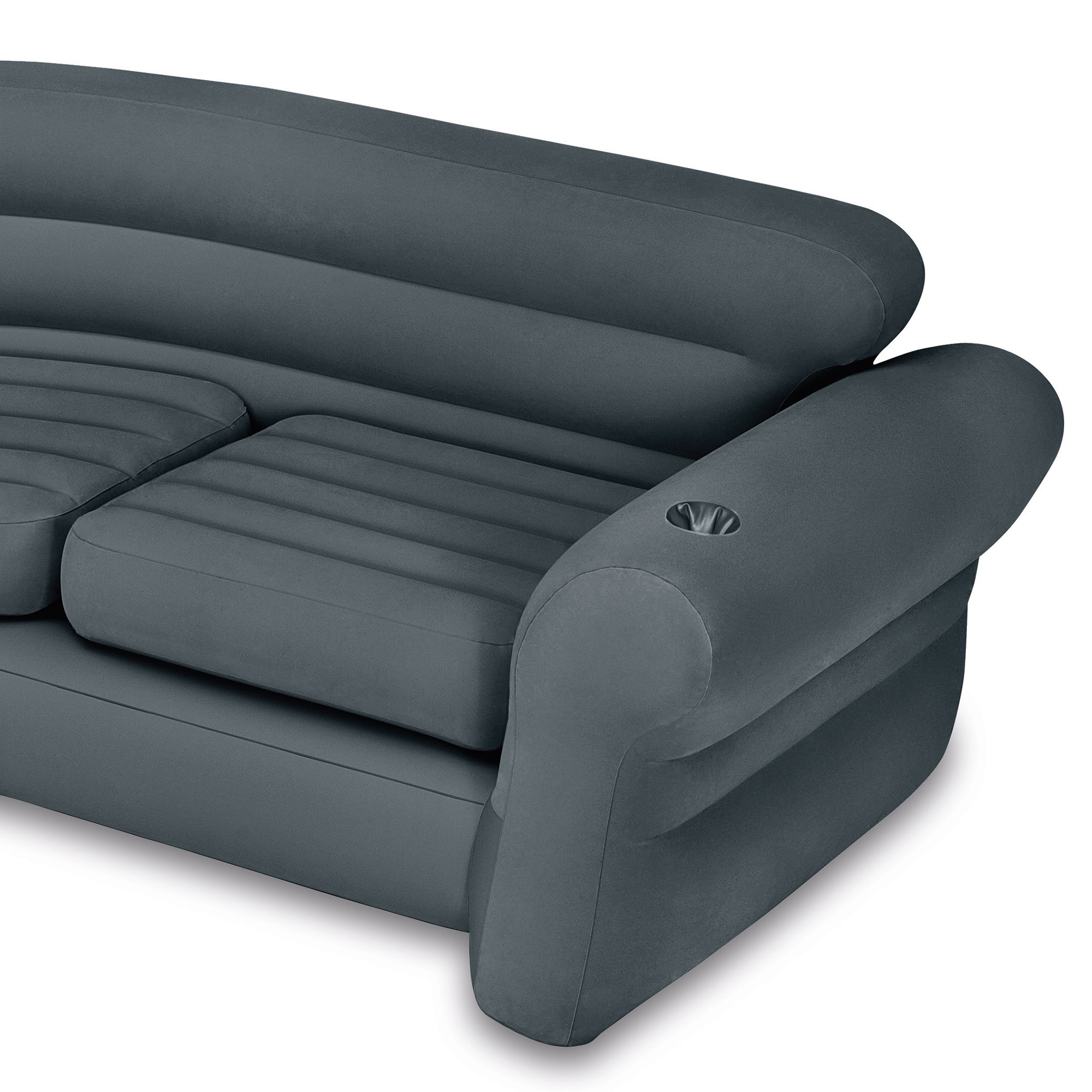 Retro Inflatable Sofa Intex Inflatable Corner Sectional Sofa W 120v Quick Fill Ac Electric Air Pump