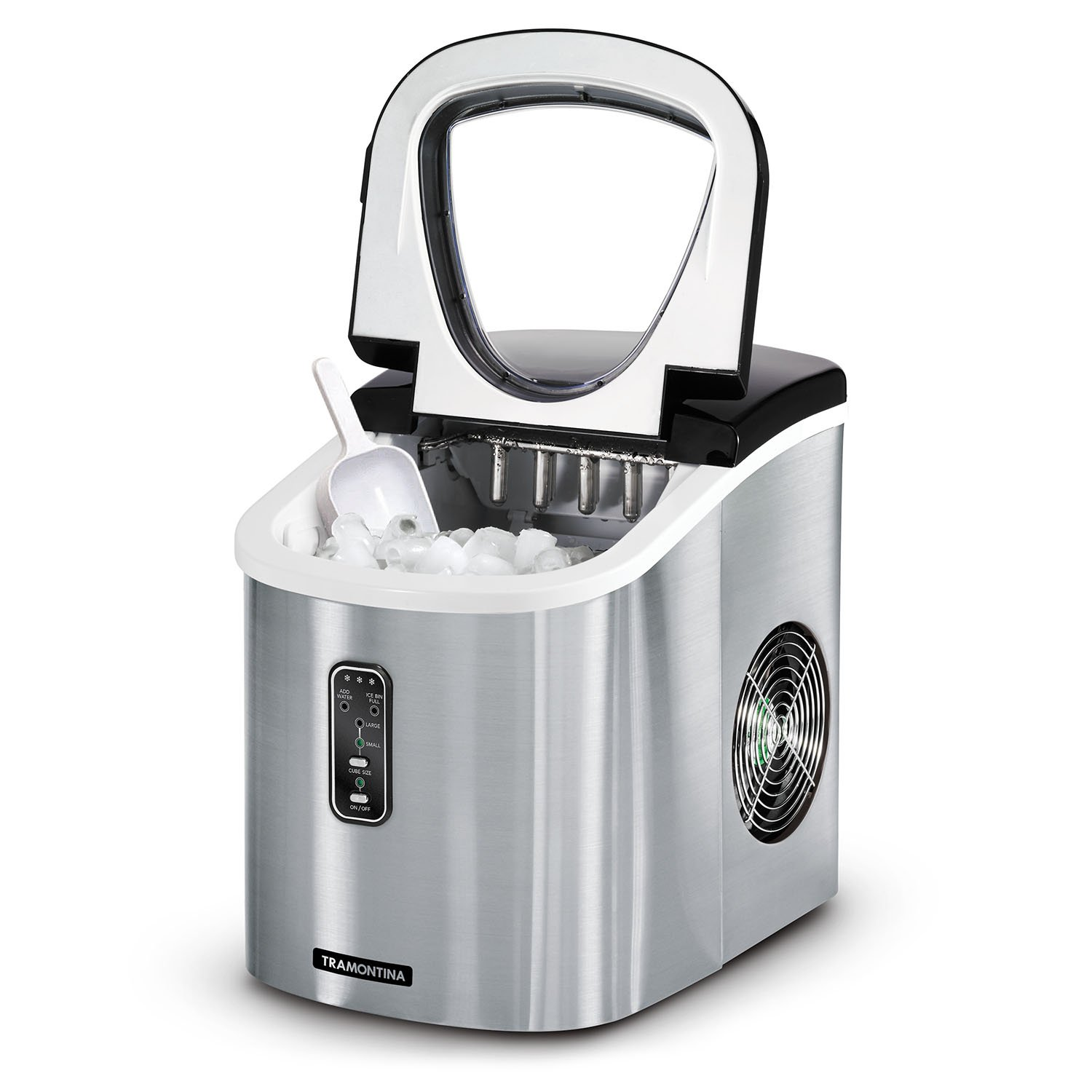Countertop Ice Maker Walmart Tramontina Stainless Steel Ice Maker Stainless