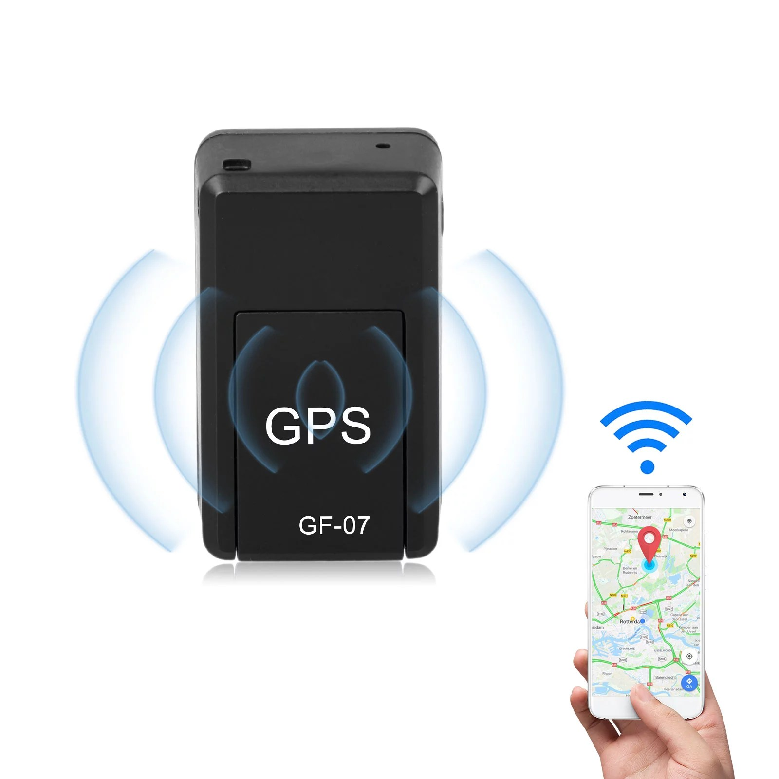 Gps Tracker Tracking Device Mini Car Gps Tracker Real Time Tracking Locator Free Installation For Vehicles No Monthly Fee Dogs Keys Cars Kids Persons Travel Key