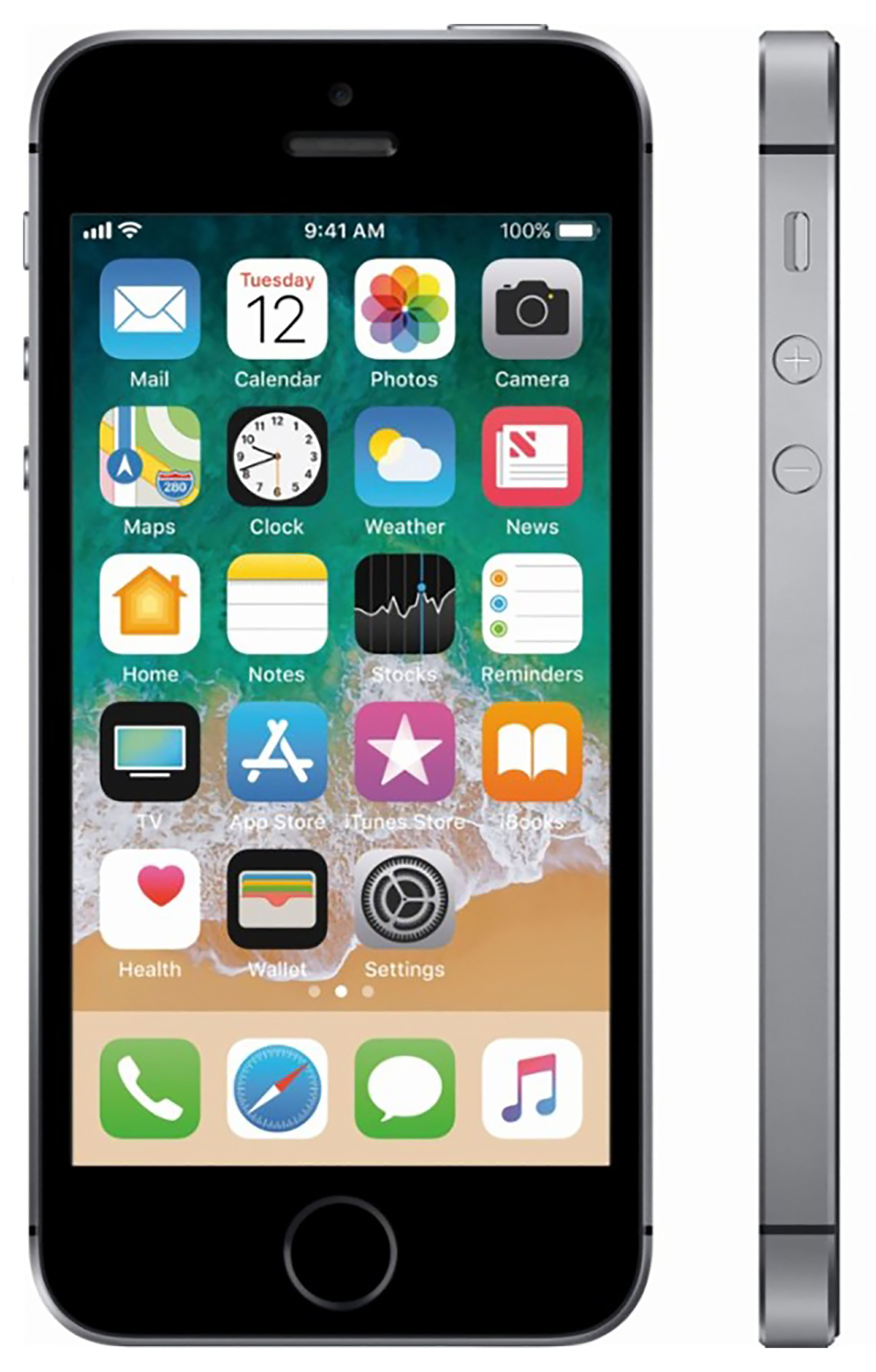 Iphone Se 16go Reconditionné Refurbished Apple Iphone Se 16gb Space Gray Unlocked Lte