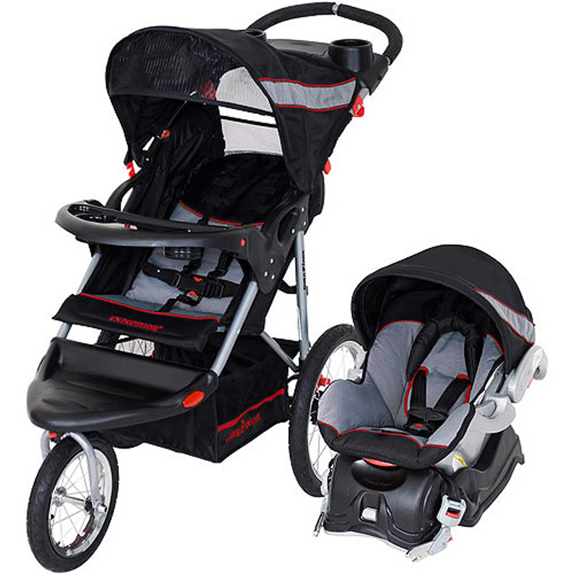 Car Seat Stroller Travel System Reviews Details About Baby Trend Expedition Jogger Travel System