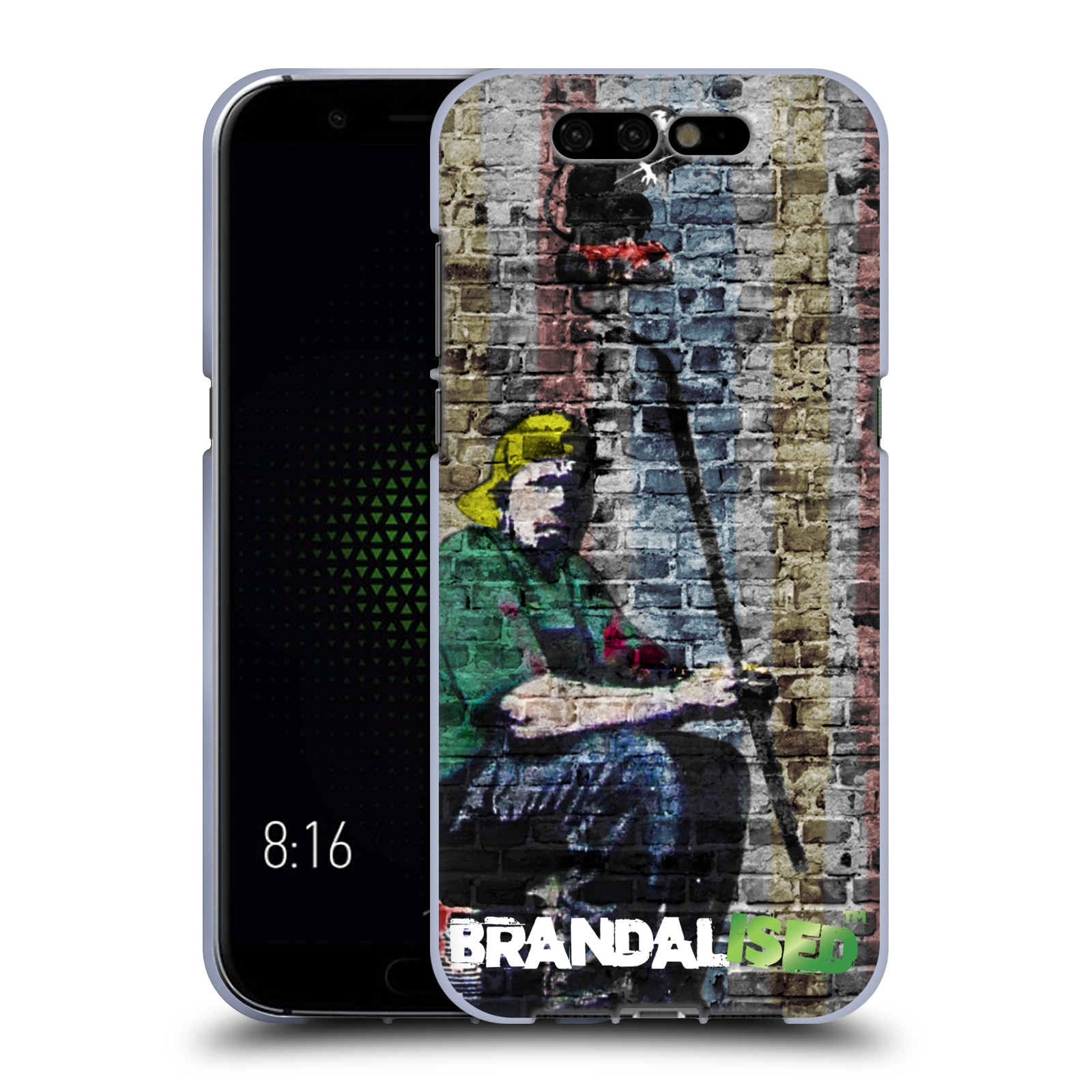 Mobile De24 Official Brandalised Banksy Coloured Art Soft Gel Case For Xiaomi Phones